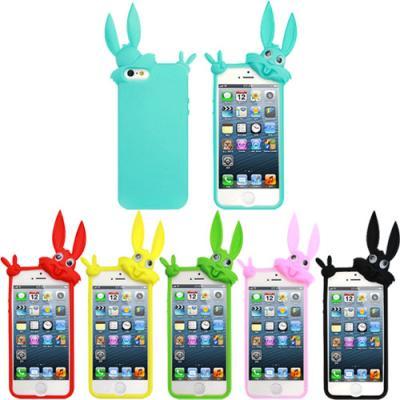 아이폰 5용 바니 입체 실리콘 케이스 (9색상 중 선택)