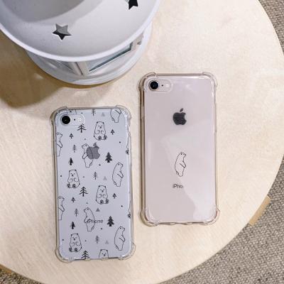 아이폰XS MAX 북극곰 방탄케이스