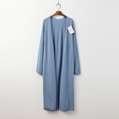 Laine Cashmere N Wool Long Shawl Cardigan