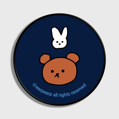Bear and rabbit-navy(스마트톡)
