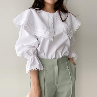 Lace Sailor Blouse