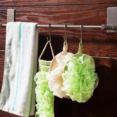 접착식 스텐 수건 타올 걸이 ( 욕실 주방 ) 40cm