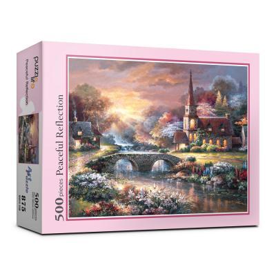 500피스 평화의 마을 직소퍼즐 PL875