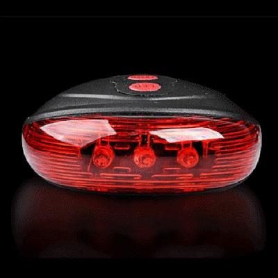 PH 자전거 LED 레이저 라이트(7패턴,후미등)