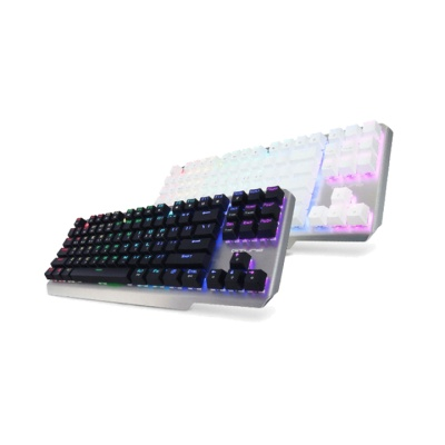 한성컴퓨터 GTune 텐키리스 기계식키보드 MKL16 XRGB (커스터마이징 백라이트 / 오테무스위치 / 청축,적축)