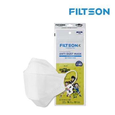 [필슨] 케이 어린이 황사 미세먼지 차단용 마스크 KF80 (3매)