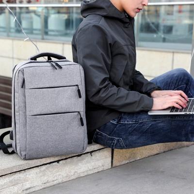 엘프 노트북 백팩(그레이) / 노트북가방