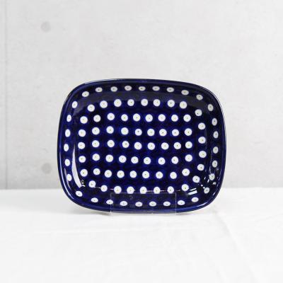 폴란드그릇 아티스티나 라운드직사각접시(소) 패턴70a