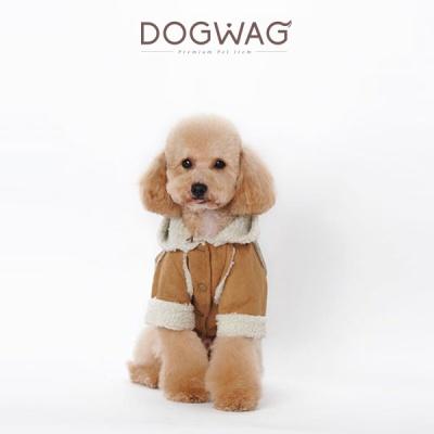 강아지 고급 무스탕 자켓 겨울 옷 코트 고양이 아우터