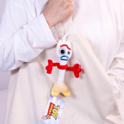 포키 인형 가방 고리 12cm 디즈니 토이스토리4 키링
