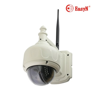EasyN  130만화소 CCTV IP카메라 EasyCAM ES130R PoE (5배 광학줌 / 방수&방습 / 실시간 영상 확인 / 야간 감시 / 감시 알람)