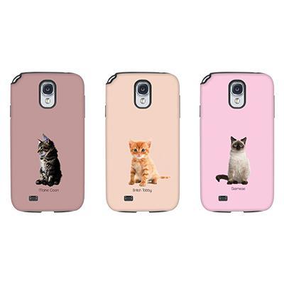 [듀얼케이스] Baby Cats (갤럭시S4)