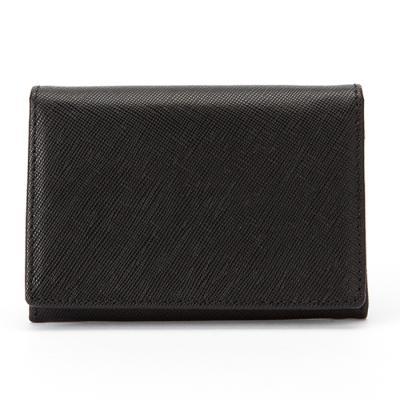 카드/명함지갑 - 사피아노 블랙
