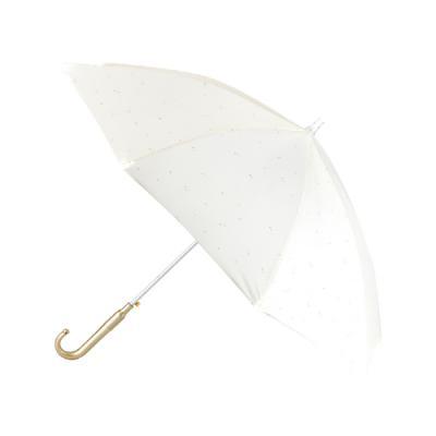 세이프가드 성인용 LED 우산 별달 아이보리색