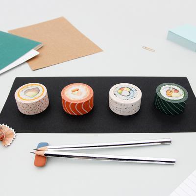 [썩유케이] 스시 디자인 종이 마스킹 테이프