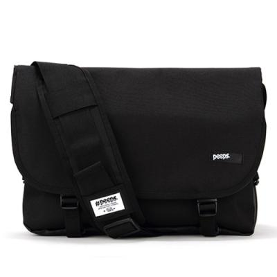 [핍스]PEEPS essential messenger bag(black)
