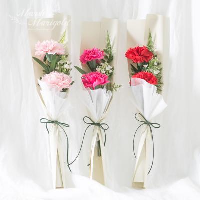 [마쉬매리골드]카네이션 미니 꽃다발