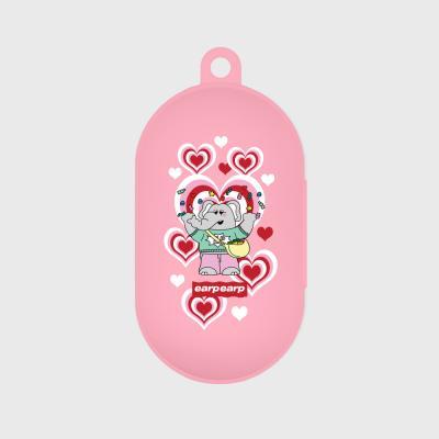 kkikki Jelly bomb-pink(buds jelly case)
