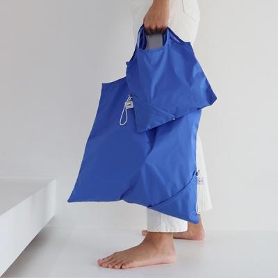 [칼라링백/오션블루] 에코백/시장가방/보조가방
