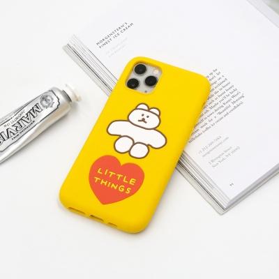 DONATDONAT 슬림핏 실리콘 케이스 for i-Phone 11/pro