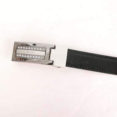[디꾸보]큐빅 이너버클 여성 가죽 정장벨트 DCB-ST881