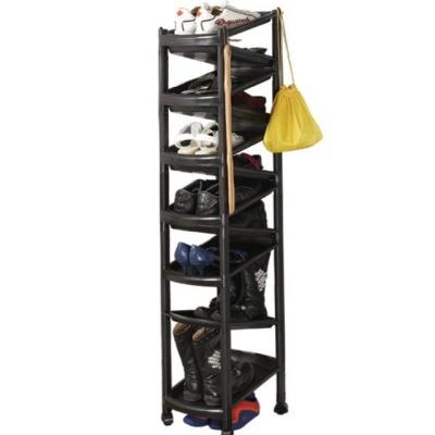 공간 활용도 높은 조립식 신발장 11단 고급형
