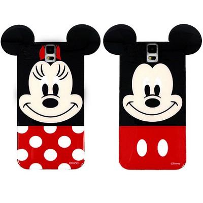 디즈니 정품 미키마우스 젤리케이스(갤럭시S5)