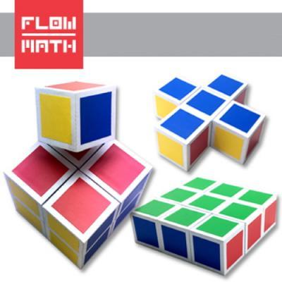 [플로우수학교구] 4색 입체퍼즐 만들기(1인용)