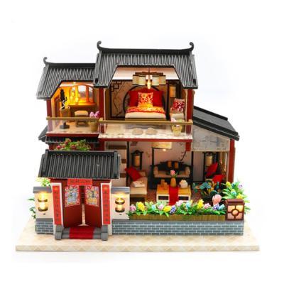 [adico]DIY 미니어처 풀하우스 - 홀리 하우스