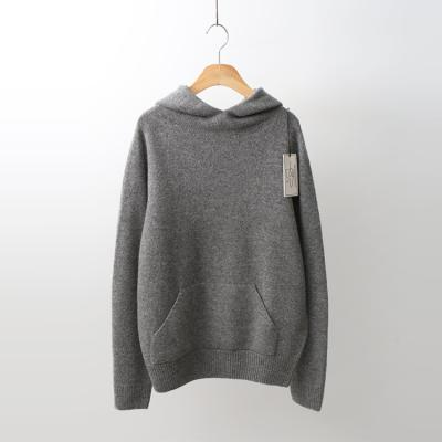 Laine Cashmere Wool Hood Sweater