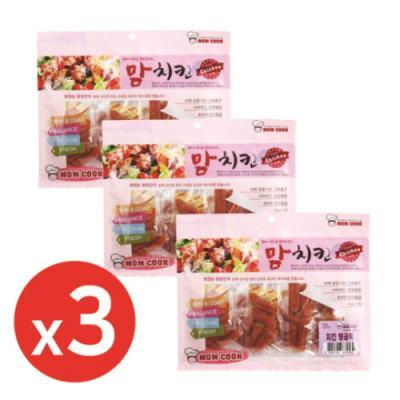 맘쿡(300g) 치킨 영양탱글이 x3개 강아지간식