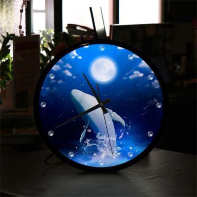 ng205-LED시계액자35R_고래의여행