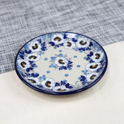 폴란드그릇 아티스티나 원형 접시 16cm 패턴2222