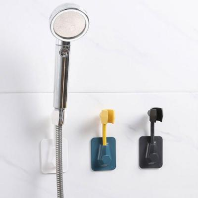 미니멀 부착 샤워기 거치대 1개(색상랜덤)