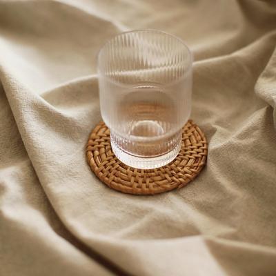 슬림 라탄 코스터 컵받침 티코스타 코스타 (8cm)