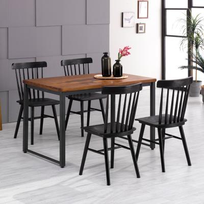 [랜선할인]아카시아 4인 식탁+의자801 세트 FN702-14