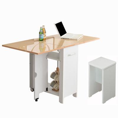 뉴600 하이그로시 접이식테이블+의자1개 2-4인용식탁
