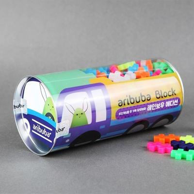 [아리부바] 레인보우 블럭 205조각