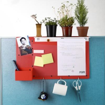 POPI 파티션 선반 메모보드 문서수납 메모판