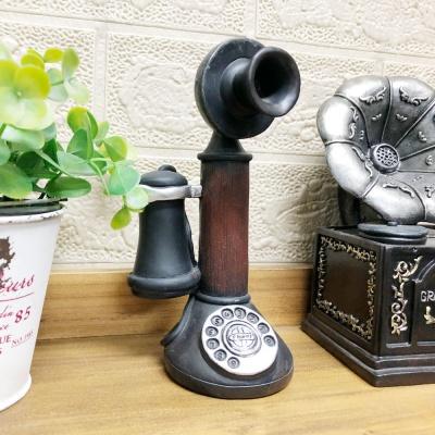엔틱 데코 소품 1구 전화기