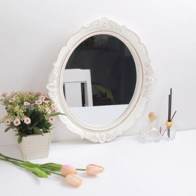 아르테미스 화이트 벽걸이 거울