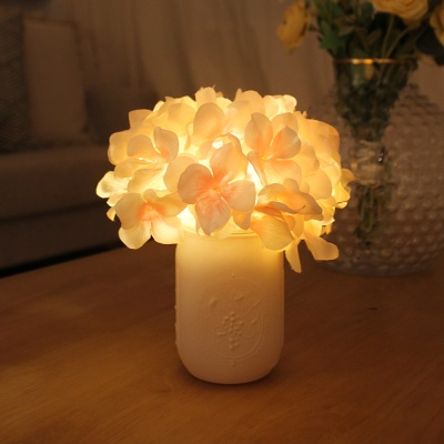 몽실 수국 팟 LED 무드등