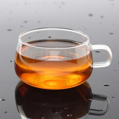 [로하티]마리 내열 유리컵 / 홈카페 커피 주스잔