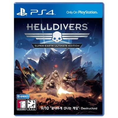PS4 헬다이버스 슈퍼어스 얼티메이트 에디션 한글판