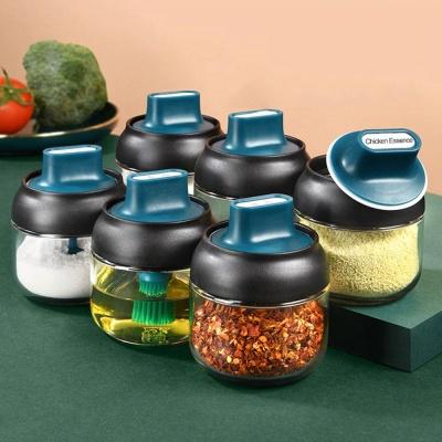 미니 숟가락 포함 조미료 스푼 셋트 양념통 보관용기