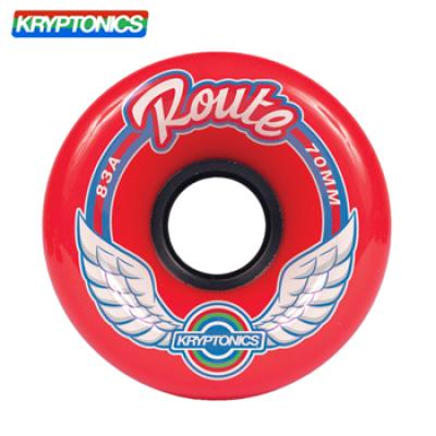 [KRYPTONICS] ROUTE RED 83A SOFT WHEELS 70MMX43MM