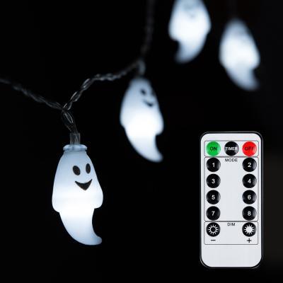 어반 LED 할로윈 소품 유령 가랜드 무드등 30P 방수형
