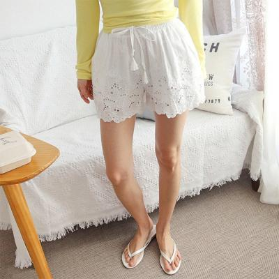 White Pajama Pants
