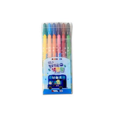 3500 미니빙글빙글색연필(12색/블루)
