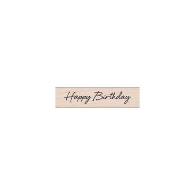 우드스탬프 happy birthday